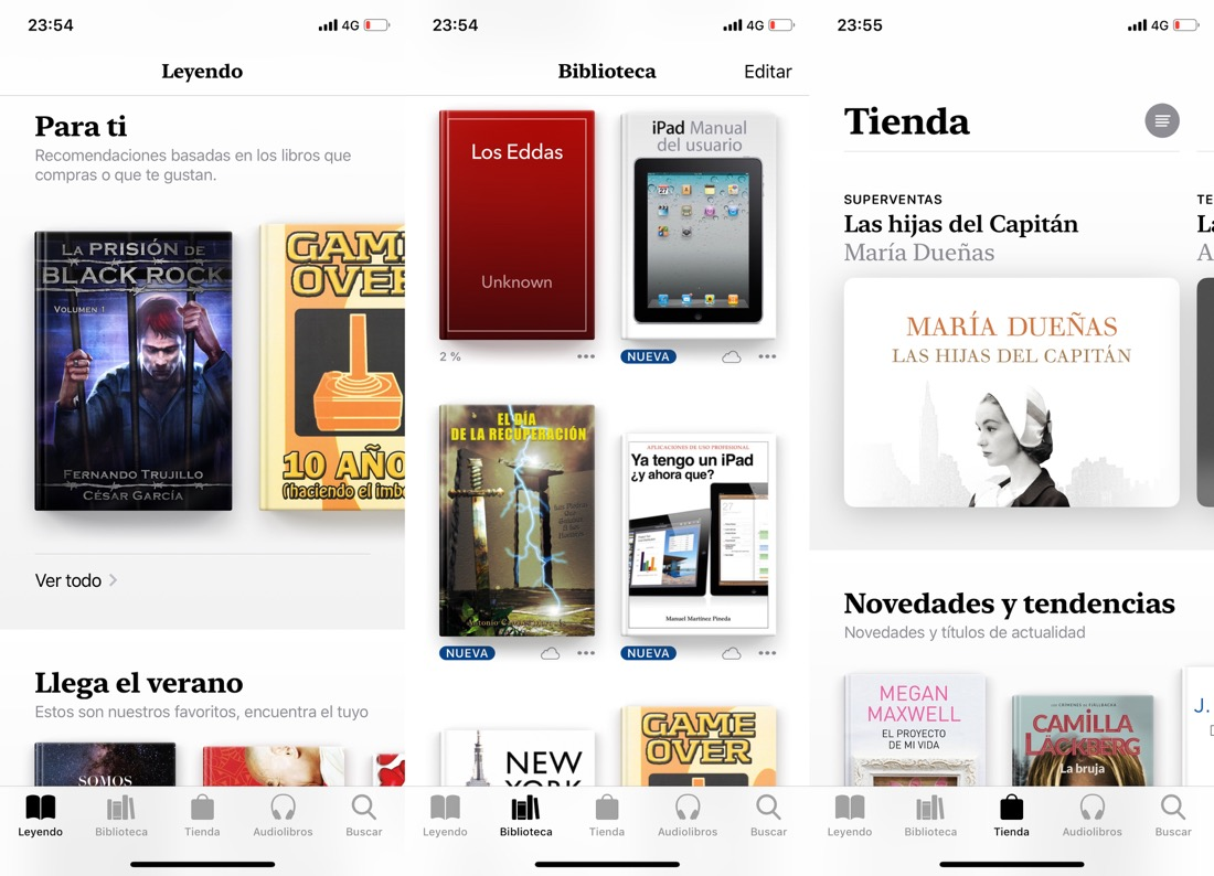 books iOS 12