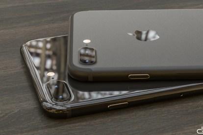 iPhone 7 render black