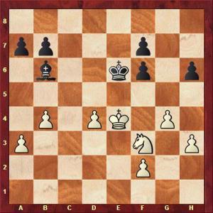 König vs Döhring nach 30. ... Ke6