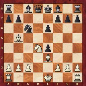 Rauter vs Deinert nach 9. dxe4