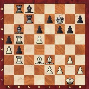 Augner vs Kessler nach 32. Le3