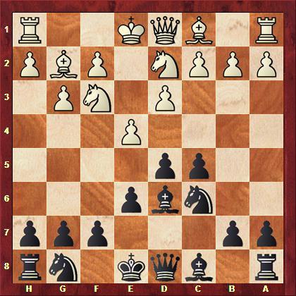Kasparow vs Falk nach 6. Lg2