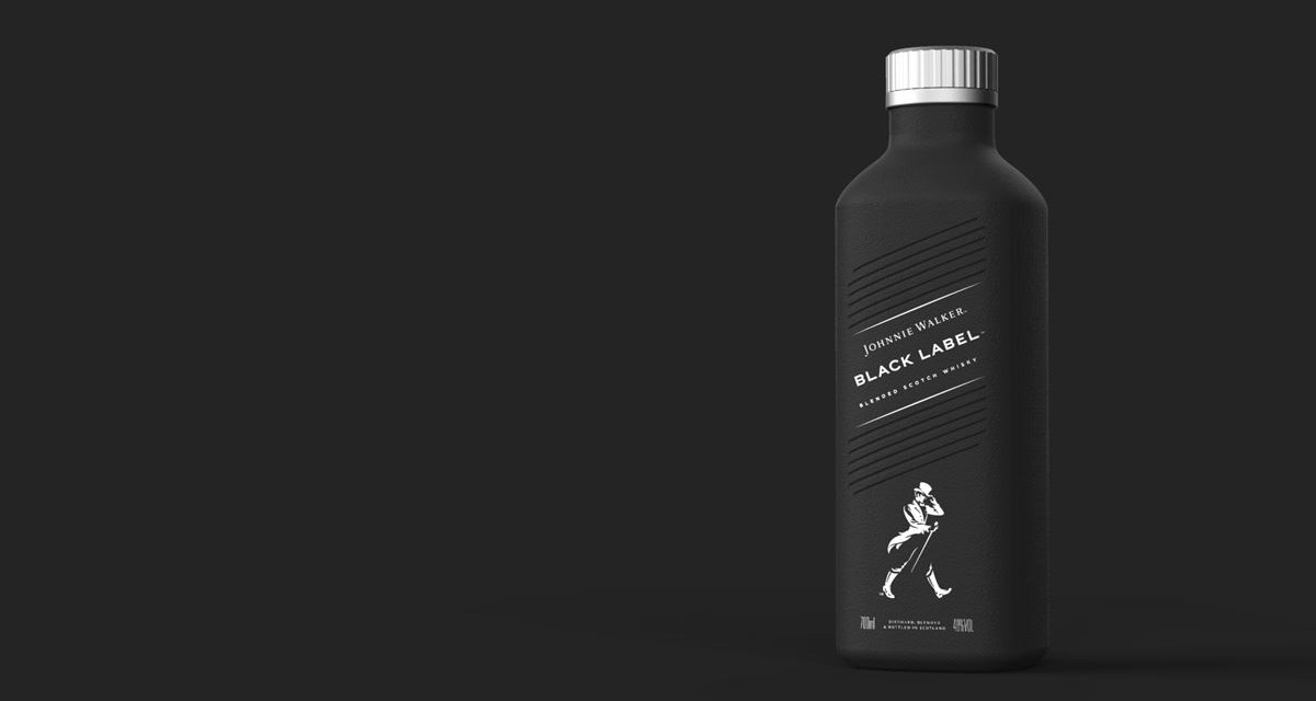 Johnnie Walker to Debut Diageo's Paper-based, Recyclable Bottles