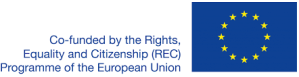 Logo EU Rights, Equality and Citizenship Work Programme