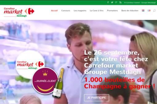 Carrefour Market groupe Mestdagh