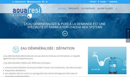 Aquaresi.be | Eau déminéralisée industrielle