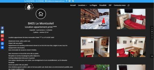 Site location particuliers à particuliers La Plagne