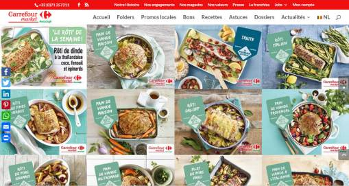 Carrefour market Belgique