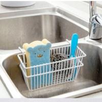 Hot Kitchen Sponge Holder Sink Caddy Brush Soap