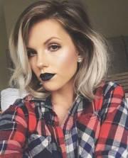 ombre hair color short