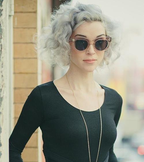 15 Short Grey Hair Styles Short Hairstyles Amp Haircuts 2018