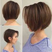 short hairstyles straight
