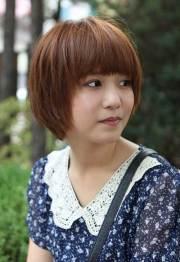 korean bob hairstyle 2014