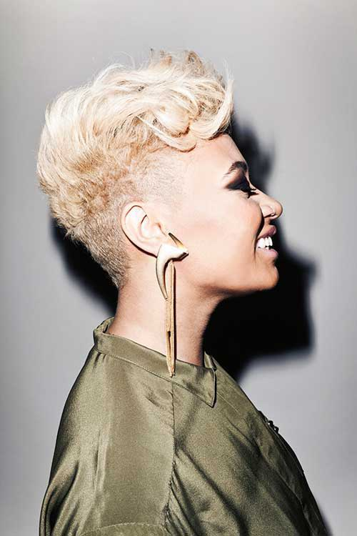 15 Short Blonde Hairstyles For Black Women Short Hairstyles