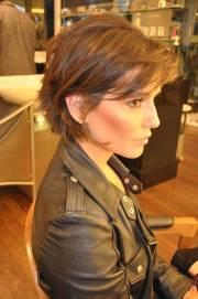 short haircuts with bangs 2014