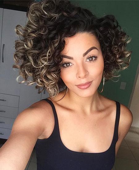 Latest Short Natural Curly Hair Short Hairstyles Haircuts