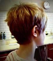 pixie haircut view short