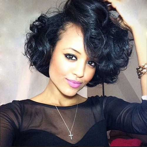 20 Short Curly Weave Hairstyles Short Hairstyles & Haircuts 2015