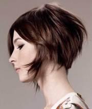 good brown short haircuts