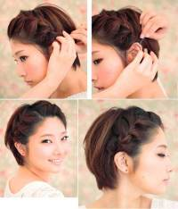 15 Braided Hairstyles For Short Hair   Short Hairstyles ...