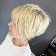 short haircuts wavy hairs