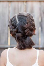 easy short updo hairstyles