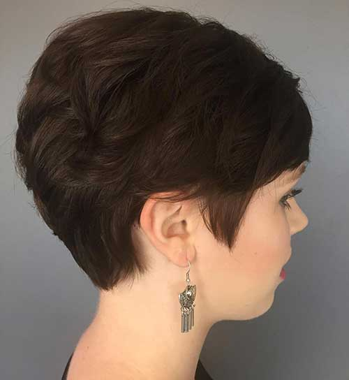 Chic Curly Short Hairstyles For Ladies Short Hairstyles