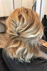 easy updo hairstyles short