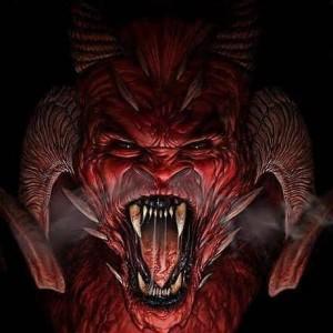 Une représentation de Satan