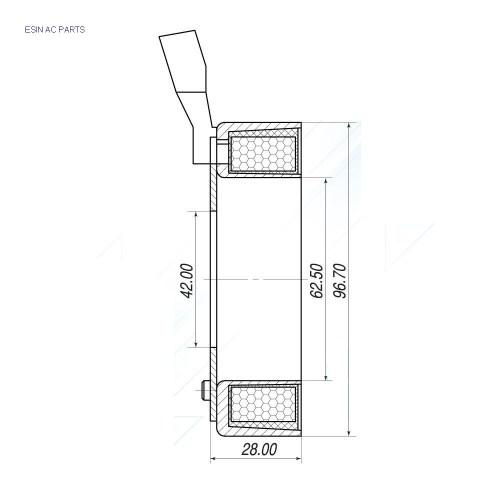 small resolution of chevrolet dac captiva c100 c140 2 4 opel antara 2 4 delphi sp17 12v ac coil