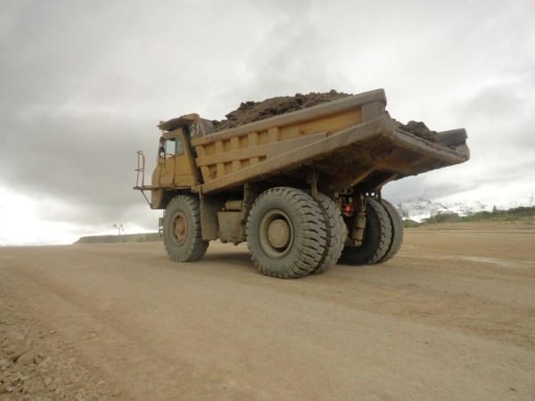 Mwadui Mines Truck