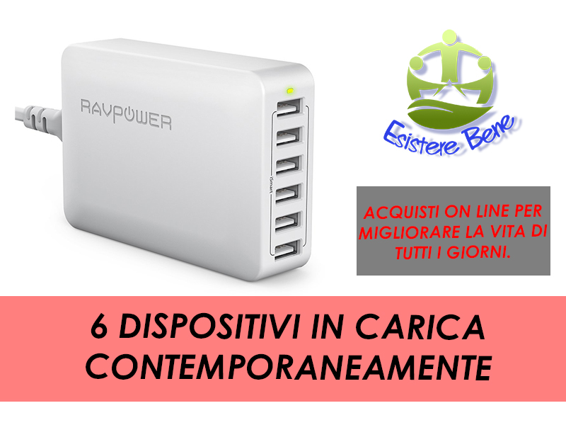 Caricabatterie RavPower