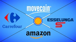 Ufficiale! Movecoin spendibili in buoni Amazon, Esselunga e Carrefour.