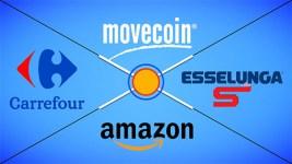 Ufficiale! Movecoin spendibili in buoni Amazon, Esselunga e Carrefour.