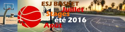 Stage de basket-ball (été 2016)