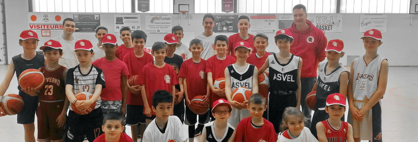 Stage ESJ Basket Printemps 2019