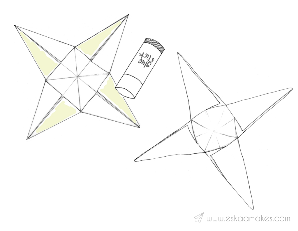 How to make: decorative paper star » [es.kaa.] makes
