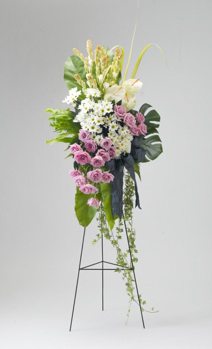 Sympathy Flower funeral flower stand | Condolence Flower