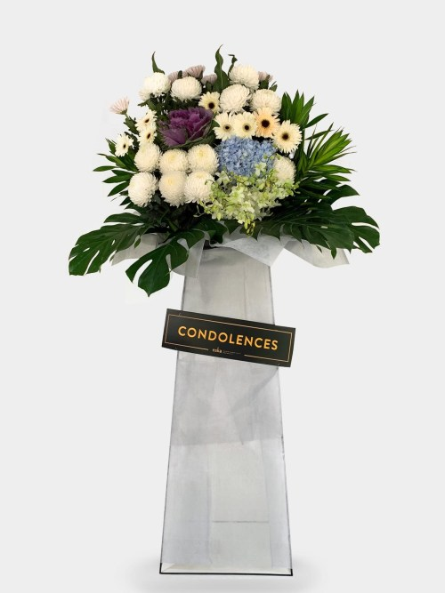 Tapestry Sympathy Funeral Flower Stand | Condolence Flower | Eska Creative Gifting