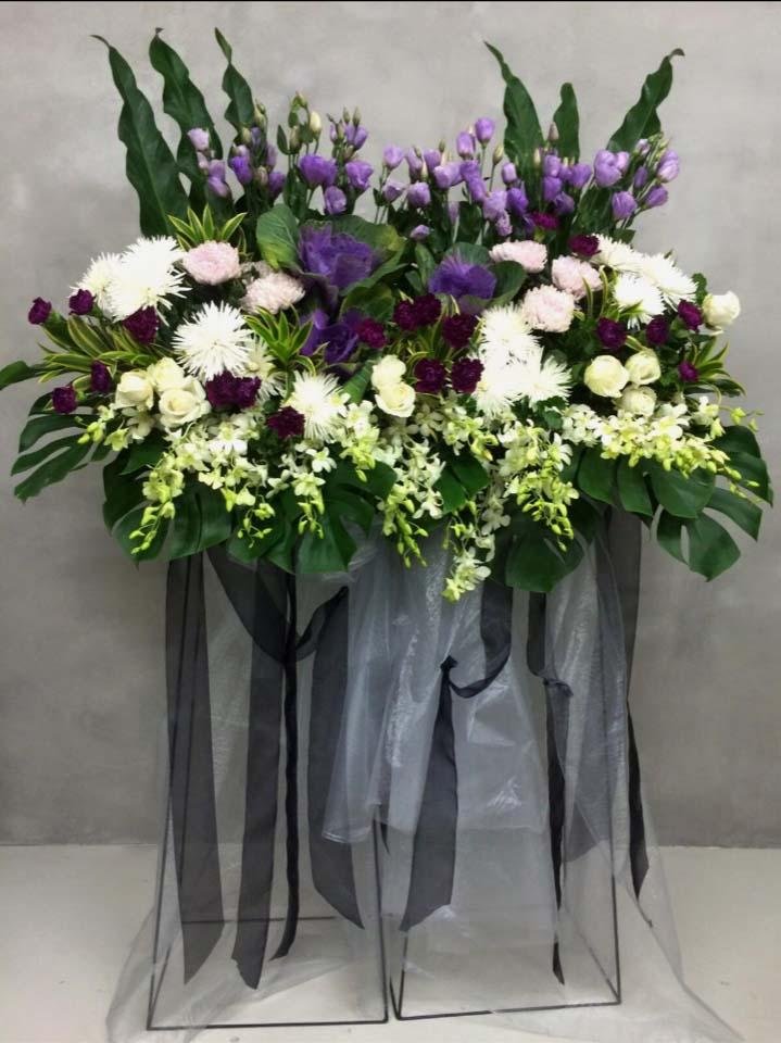 Glorious Grace Funeral Flower Stand | Condolence Flower | Eska Creative Gifting