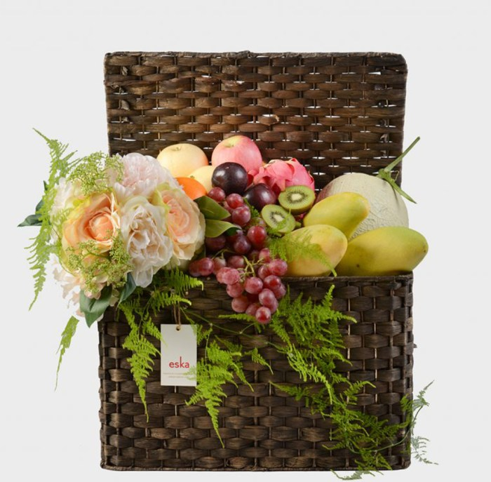 Grand Fruits Basket | Get Well Gifts | Eska Creative Gifting