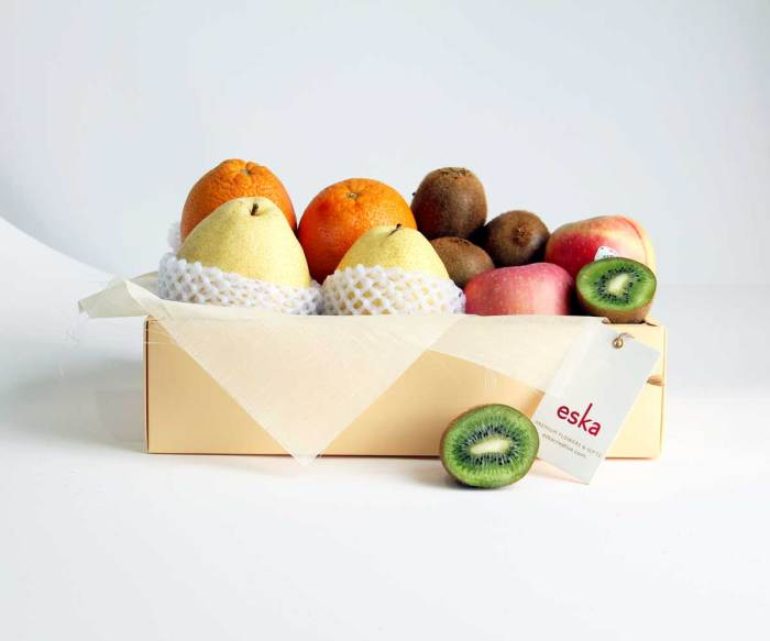 Fruits For Two | Fruit Basket | Eska Creative Gifting