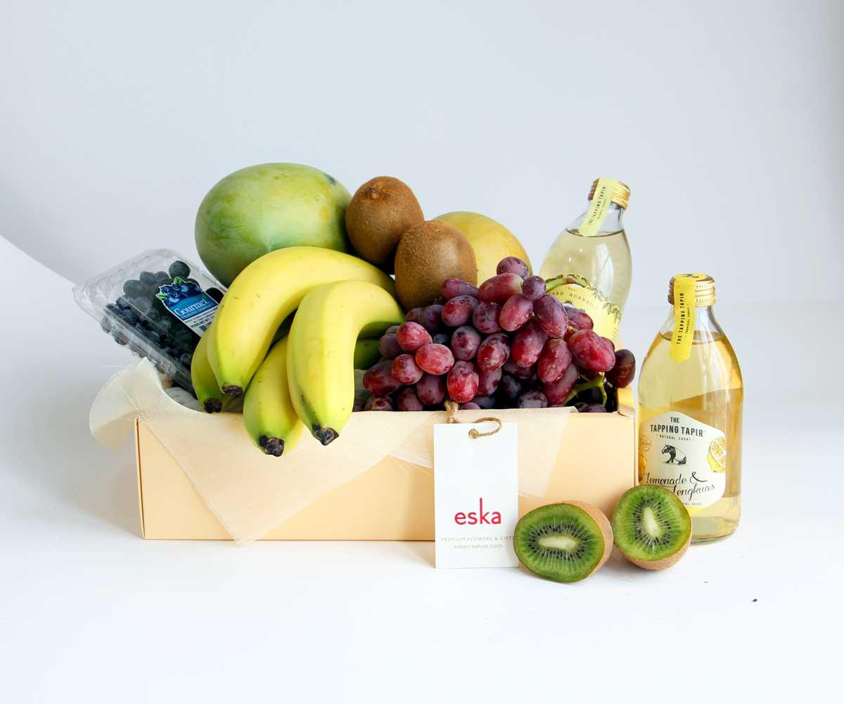 Tropics & Berries | Fruit Basket | Eska Creative Gifting