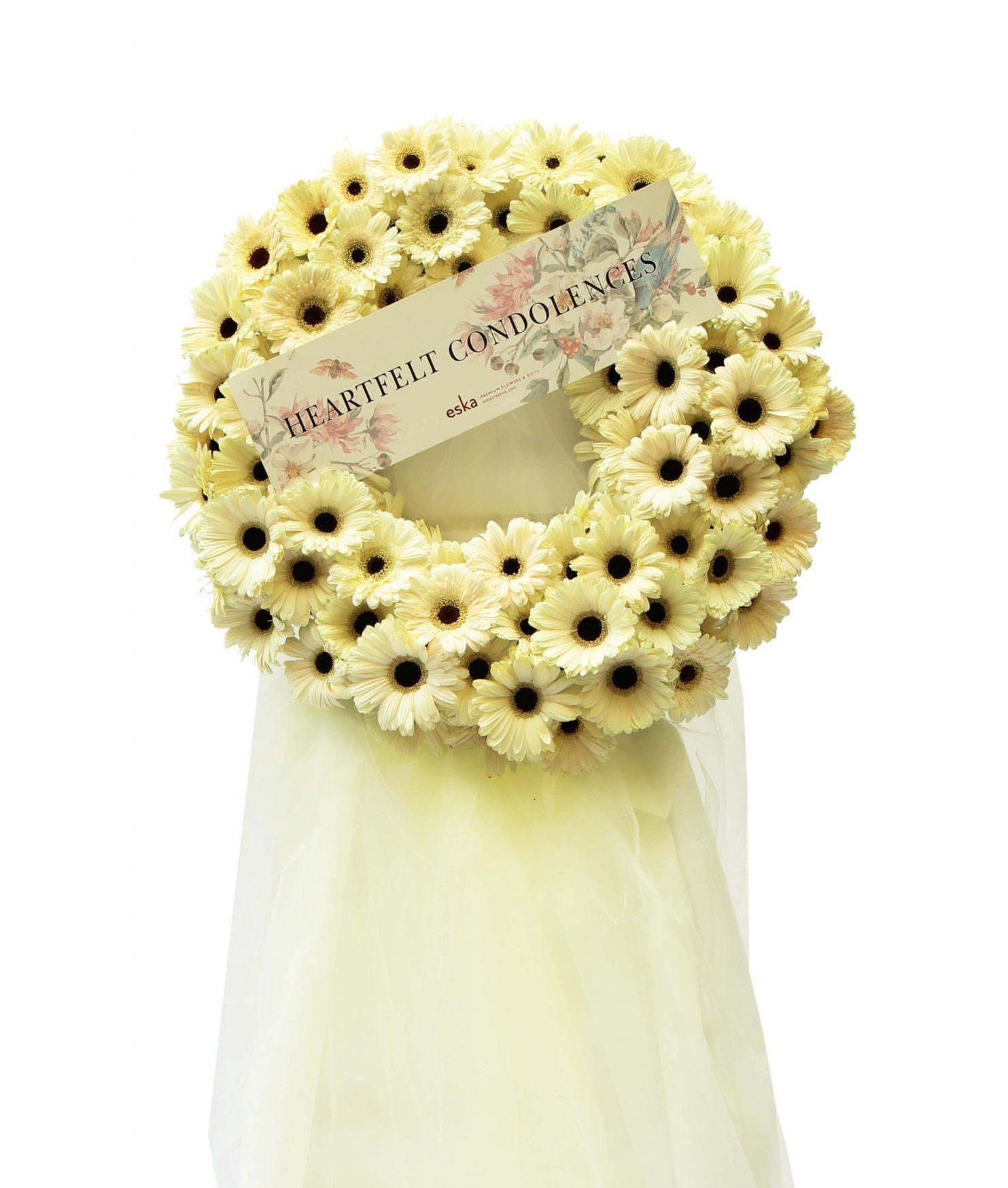 Graceful Funeral Flower Stand | Condolence Flower | Eska Creative Gifting