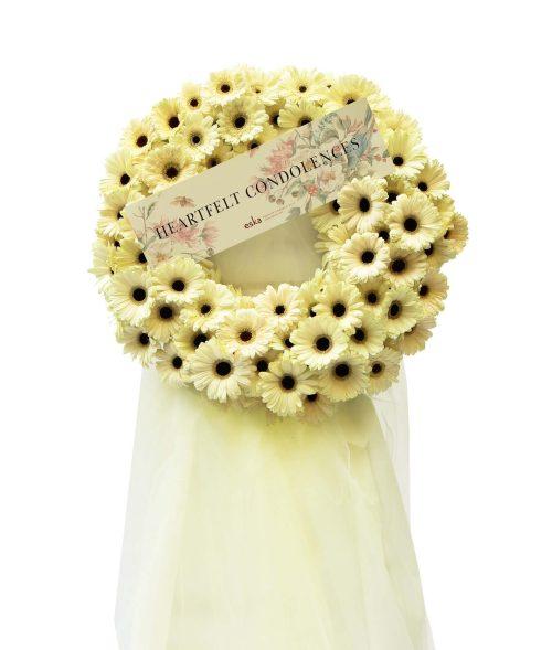 Graceful Funeral Flower Stand   Condolence Flower   Eska Creative Gifting