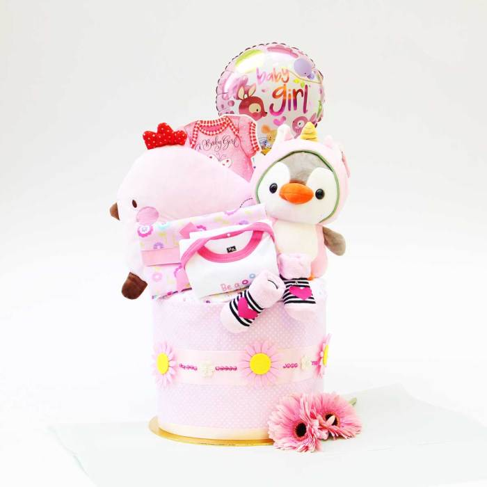 Simple Dimple Baby Cake | Newborn Baby Gifts | Eska Creative Gifting