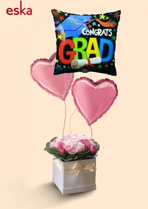 Joyous Celebration Graduations | Helium Balloons | Eska Creative Gifting