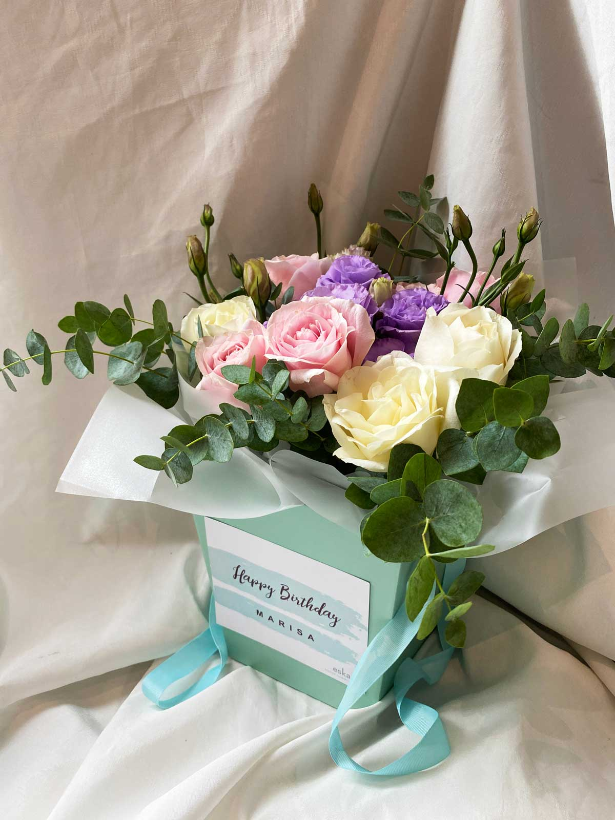 Sweet Pastels | Flower Box and Baskets | Eska Creative Gifting