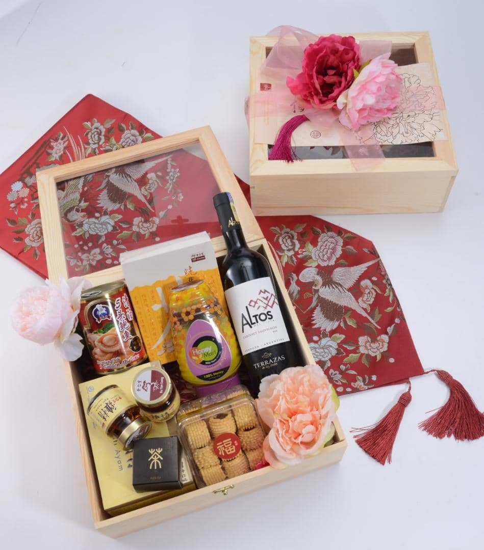 Gather Of Wealth | Chinese New Year Hampers Gifts | Eska Creative Gifting