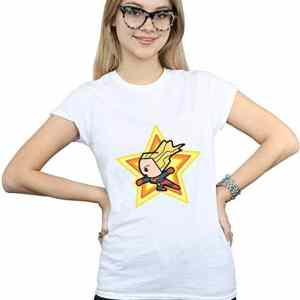 camiseta capitana marvel